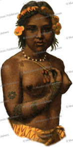 Tattooed girl of the Admiralty Islands, Gustav Mu¨tzel, 1886 | Photos and Images | Travel