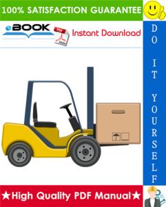 Hyster J2.00XL (J40XL), J2.50XL (J50XL), J3.00XL (J60XL) [B168] Forklift Trucks Service Repair Manual | eBooks | Technical