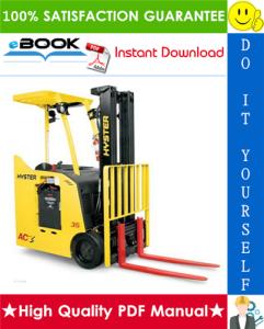 Hyster E30HSD2, E35HSD2, E40HSD2 (B219) 3-Wheel Electric Forklifts Service Repair Manual | eBooks | Technical