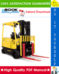 hyster e3.50xl, e4.00xl, e4.50xls, e5.50xl (pre-sem) [c098] electric forklift trucks service repair manual