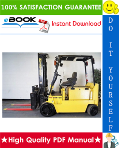 Hyster E80XL3, E100XL3, E120XL3, E100XL3S (C098) Forklift Trucks Service Repair Manual | eBooks | Technical