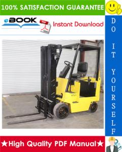 Hyster E40XL, E50XL, E60XL (C108) Forklift Trucks Service Repair Manual | eBooks | Technical
