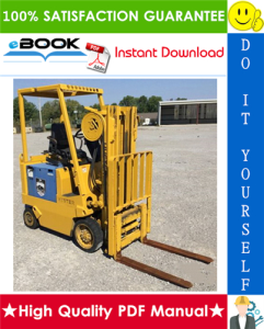 Hyster E25XL, E30XL, E35XL (C114) Forklift Trucks Service Repair Manual | eBooks | Technical