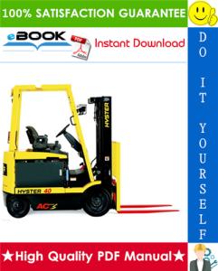 Hyster E25Z, E30Z, E35Z, E40ZS (F114) Forklift Trucks Service Repair Manual   eBooks   Technical