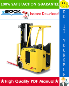 hyster e30fr, e35fr, e40fr, e45fr, e50fr (z943) electric forklift trucks service repair manual