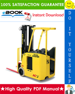 hyster e30fr, e30fr-24, e35fr, e40fr, e45fr, e50fr (z943) electric forklift trucks service repair manual