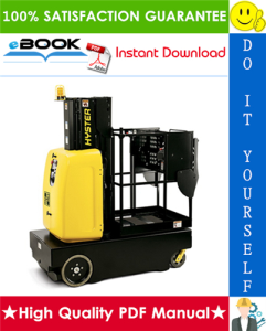 Hyster AP20Z (A254) Aerial Work Platform Service Repair Manual | eBooks | Technical