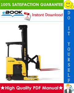 Hyster N35ZRS, N40ZRS, N30ZDRS (A265) Lift Trucks Service Repair Manual | eBooks | Technical