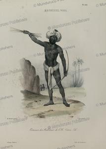 Dress of Viti Levu, Fiji, Louis Auguste de Sainson, 1832 | Photos and Images | Travel