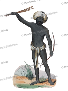 Warrior of Fiji, Doms, 1834 | Photos and Images | Travel