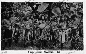 Young Fijian warriors, 1913   Photos and Images   Travel