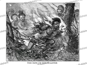 The fate of the boaster, Fiji, Johann Baptist Zwecker, 1870 | Photos and Images | Travel