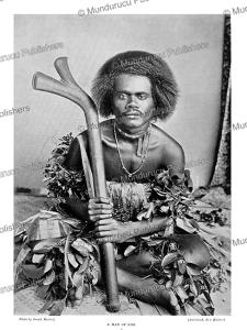 man of fiji, josiah martin, 1900