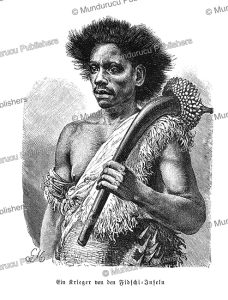 A warrior of the Fiji Islands, Gustav Mu¨tzel, 1896 | Photos and Images | Travel