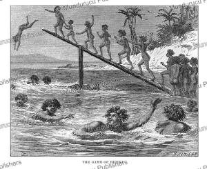 The game of Ririki, Fiji, George French Angas, 1870 | Photos and Images | Travel