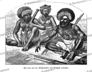 Warriors from Fiji, Globus, 1872 | Photos and Images | Travel