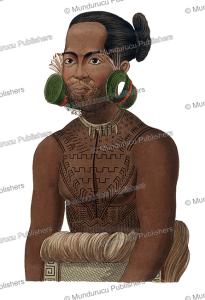 Rarick, chief of Radack, Marshall Islands, Otto von Kotzebue, 1821 | Photos and Images | Travel