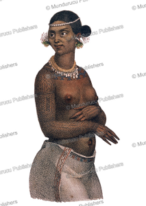 woman from chitakoff (marshall islands), louis choris, 1822