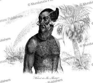 native of radack, marshall islands, louis auguste de sainson, 1834