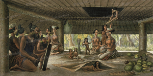 family of radack, marshall islands, ludwig choris, 1822