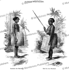 Natives of the Marshall Islands, Heydel, 1885 | Photos and Images | Travel