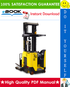 hyster n25xmdr2, n30xmr2, n40xmr2 (b470) electric forklift trucks service repair manual