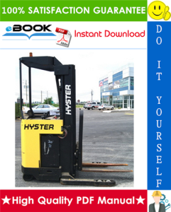hyster n50xma2 (b471) electric forklift truck service repair manual