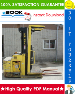 Hyster R40EH (C176) Electric Reach Truck Service Repair Manual | eBooks | Technical