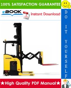 hyster n30xmh2 (c210) electric reach truck service repair manual