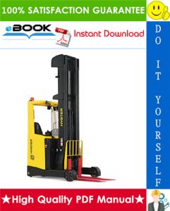 Hyster R1.4, R1.4H, R1.6, R1.6H, R1.6N, R2.0, R2.0H, R2.0W, R2.5 (C435) Electric Reach Trucks Service Repair Manual | eBooks | Technical