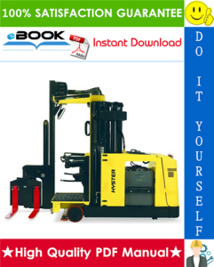Hyster V30ZMD (D210) Electric Narrow Aisle Forklift Service Repair Manual | eBooks | Technical