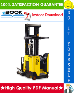hyster n45zr2, n35zdr2 (d264) reach truck forklifts service repair manual