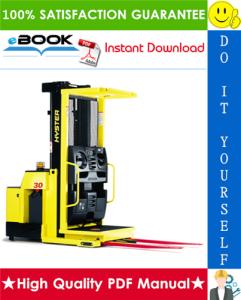 hyster r30xms3 3000 lb. capacity (e174) narrow aisle order picker service repair manual