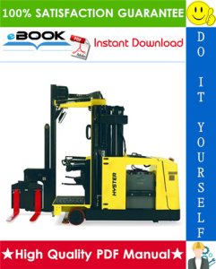Hyster V30ZMD (E210) Electric Narrow Aisle Forklift Service Repair Manual | eBooks | Technical