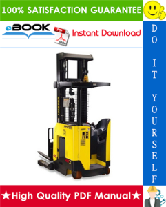 hyster n35zr2, n40zr2, n30zdr2 (e470) reach truck forklifts service repair manual