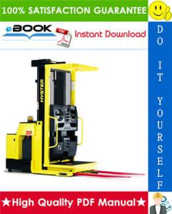 HYSTER R30XM3 (H118) ORDER PICKER Service Repair Manual | eBooks | Technical