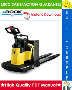 Hyster B80Z (A233) RIDER Pallet Truck Service Repair Manual | eBooks | Technical