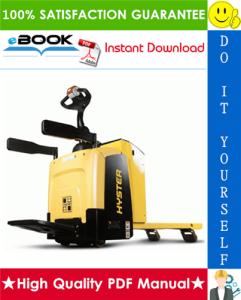 Hyster AP2.0MS (A280) Platform Pallet Trucks Service Repair Manual | eBooks | Technical