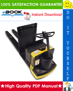 Hyster C60ZHD (A373) Electric Center Rider Pallet Truck Service Repair Manual | eBooks | Technical