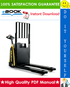 Hyster W45ZHD (A419) Walkie Pallet Truck Service Repair Manual | eBooks | Technical