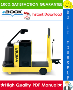 hyster t5z (a476) electric tow tractors service repair manual