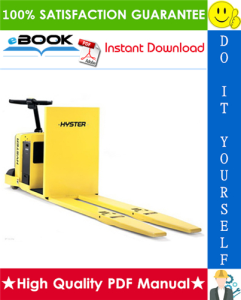 Hyster C80Z (A479) Center Rider Pallet Trucks Service Repair Manual | eBooks | Technical