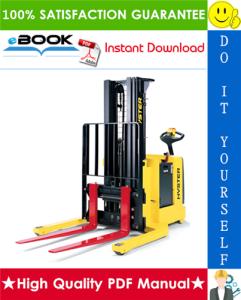 Hyster W20ZA, W25ZA (A495) Pallet Stacker Service Repair Manual | eBooks | Technical