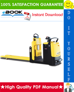 Hyster LO2.0M (A939) Low Level Order Picker Service Repair Manual | eBooks | Technical