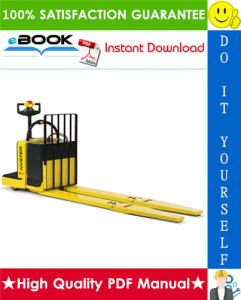 Hyster B80ZAC (B233) End Rider Pallet Trucks Service Repair Manual | eBooks | Technical