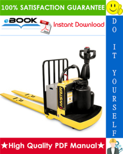 hyster b80zhd (b257) end rider pallet truck service repair manual