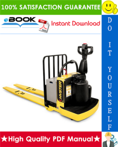 hyster b60zhd (b262) end rider pallet truck service repair manual