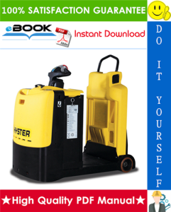 hyster t5zac (b476) electric tow tractor service repair manual