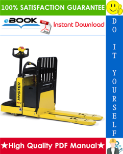 Hyster C60ZAC (B478) Center Rider Pallet Truck Service Repair Manual | eBooks | Technical