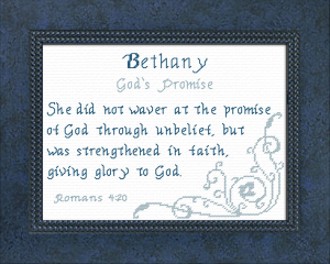 name blessings - bethany 4